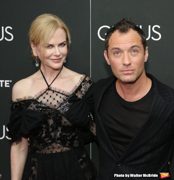 Nicole Kidman and Jude Law