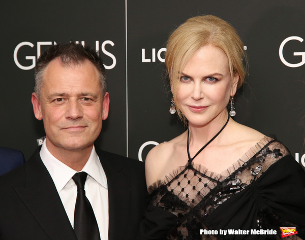 Michael Grandage and Nicole Kidman