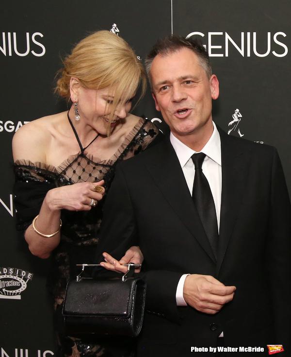 Nicole Kidman and Michael Grandage