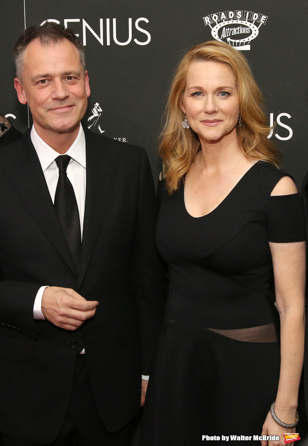 Michael Grandage and Laura Linney
