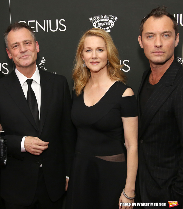 Michael Grandage, Laura Linney and Jude Law