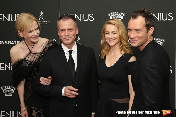 Nicole Kidman, Michael Grandage, Laura Linney and Jude Law