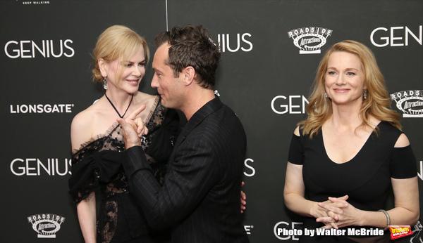Nicole Kidman, Jude Law and Laura Linney