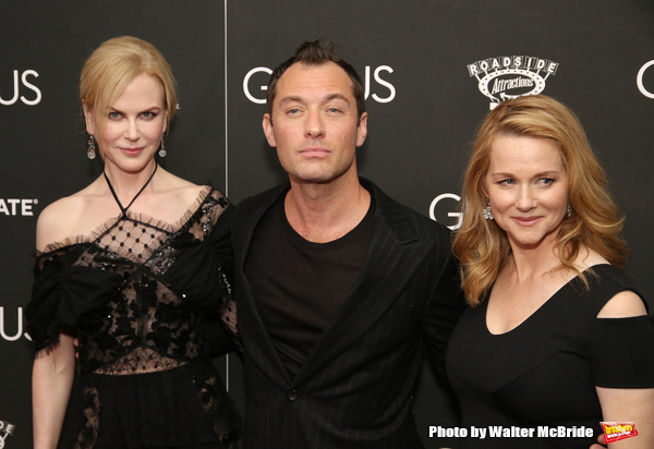 Nicole Kidman, Jude Law and Laura Linney a