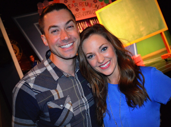 Ace Young, Laura Osnes