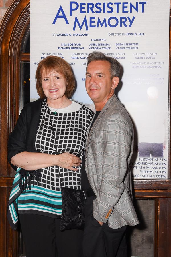 Mary J. Davis and Playwright Jackob G. Hoffmann Photo