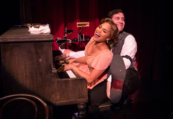 Monica Raymund and Adam Brown Photo
