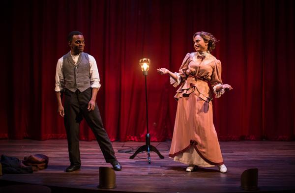 Travis Turner and Monica Raymund Photo