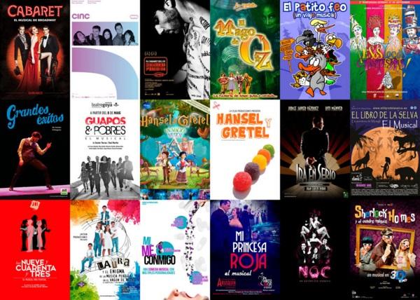 Ganadores de la novena edición de los Premios del Teatro Musical
