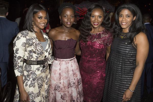 Pascale Armand, Lupita Nyong'o and Saycon Sengbloh