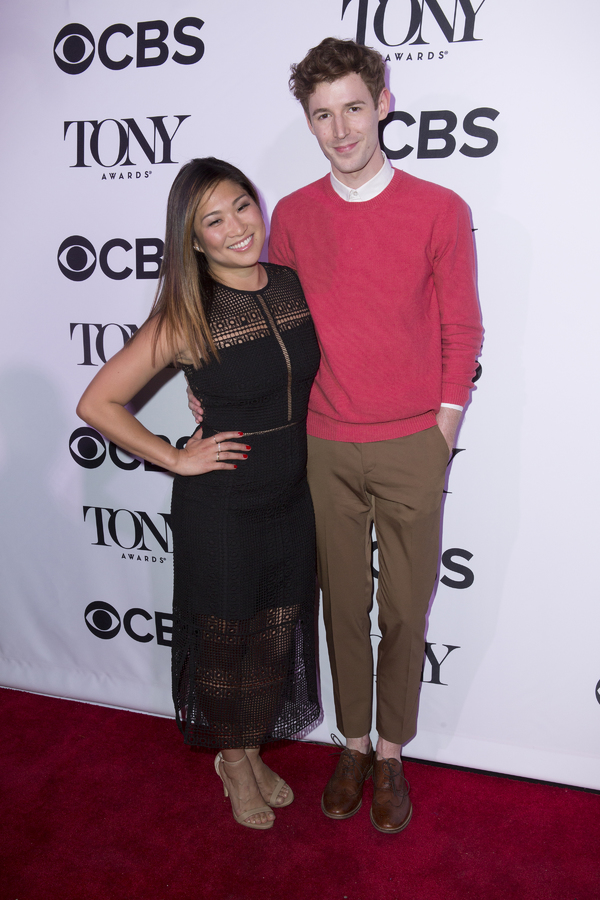 Jenna Ushkowitz and Blake Daniel