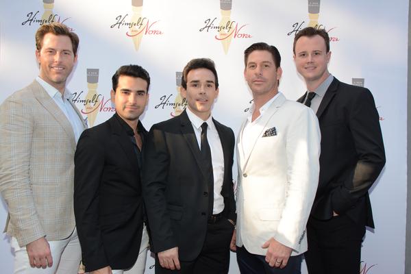 Michael Lomenda, Mauricio Perez, Dominic Scaglione, Jr., Richard Blake and Quinn VanA Photo