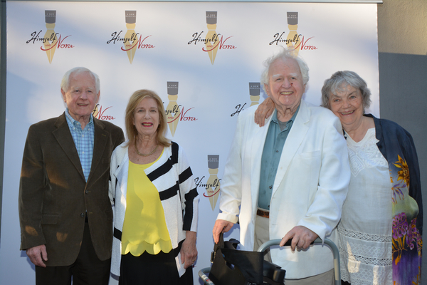 Alphie McCourt, Lynn McCourt, Malachy McCourt and Diana McCourt