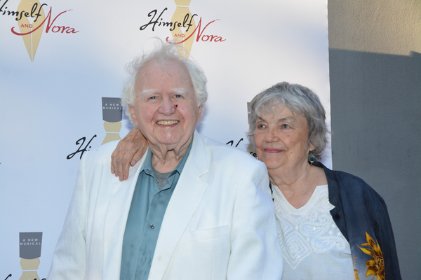 Malachy McCourt and Diana McCourt
