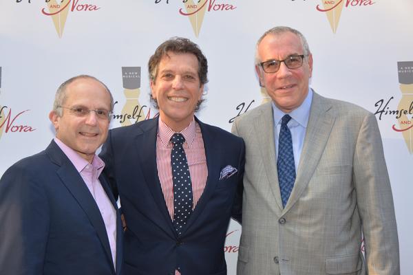Kenneth Feld, Jonathan Brielle and John Melfi Photo
