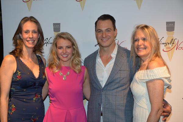 R. Erin Craig, Whitney Bashor, Matt Bogart and Cherie King