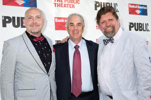 Patrick Willingham, Jeff Barker, Oskar Eustis Photo