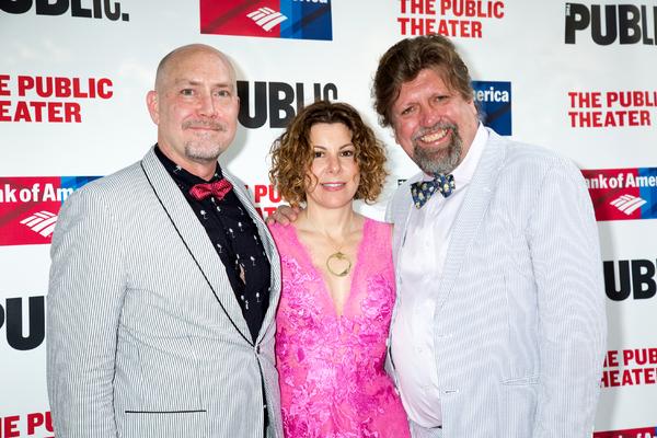 Patrick Willingham, Arielle Tepper Madover, Oskar Eustis Photo