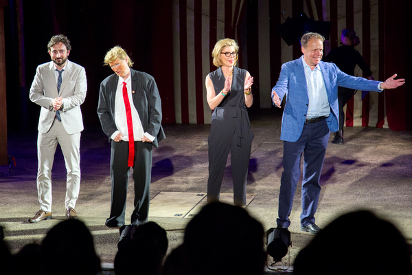 Jeremy McCarter, Meryl Streep, Christine Baranski, James Shapiro