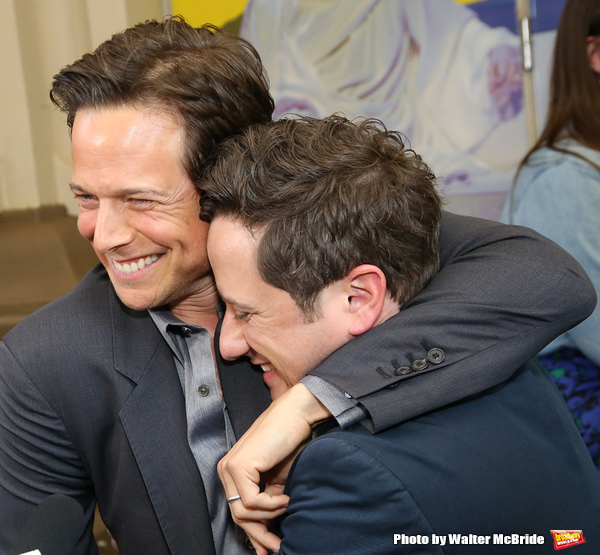 Scott Wolf and Christopher Fitzgerald
