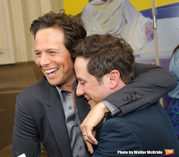 Scott Wolf and Christopher Fitzgerald  Photo