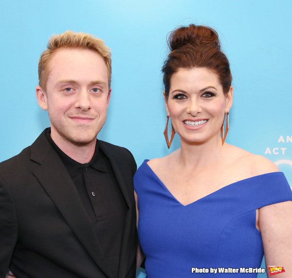 Max Jenkins and Debra Messing