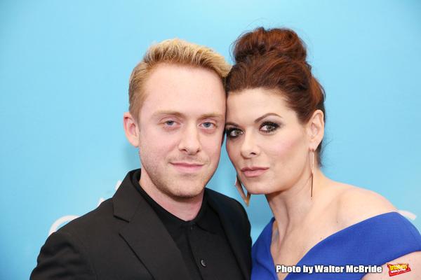 Max Jenkins and Debra Messing Photo