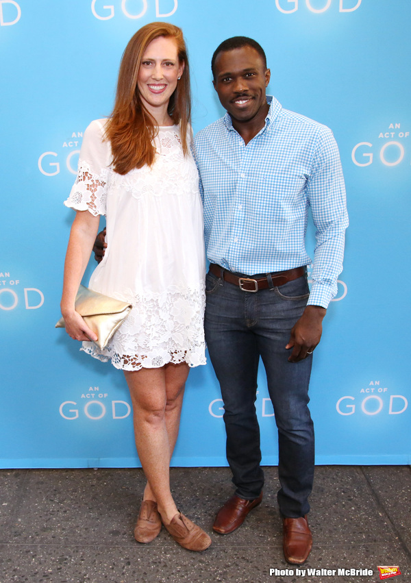 Joshua Henry and wife Cathryn Stringer