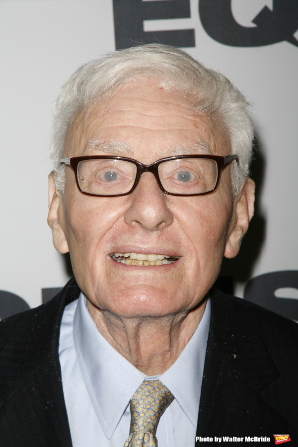 Peter Shaffer  ( Playwright) attending the EQUUS Opening Night Performance After Part Photo