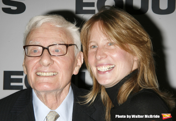 Peter Shaffer ( PLAYWRIGHT) & Thea Sharrock (DIRECTOR) Photo