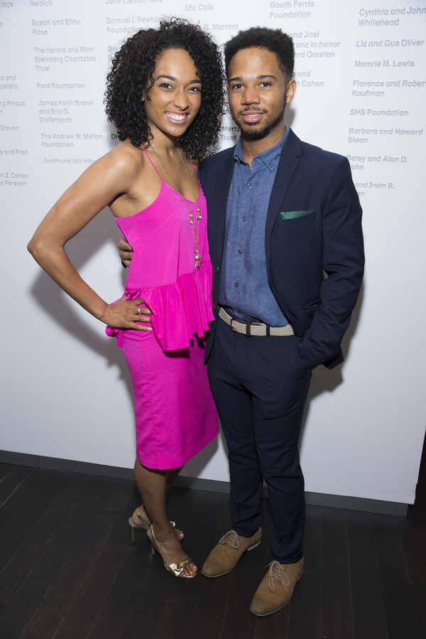 Rachel Nicks and Chris Myers play sister and brother in War at the Claire Tow Theater.