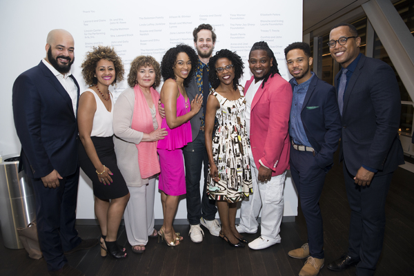 Playwright Branden Jacobs-Jenkens and director Lileana Blain-Cruz join the company on opening  night.