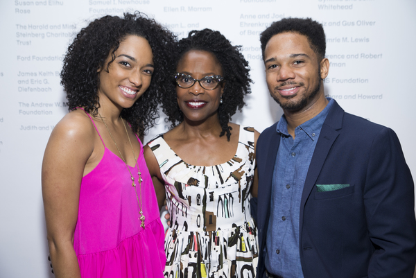 War centers on Charlayne Woodard (center), who plays mother to Rachel Nicks and Chris Myers.