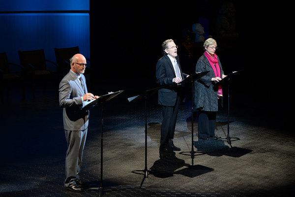 James Hebert, Robert Foxworth, Deborah Taylor