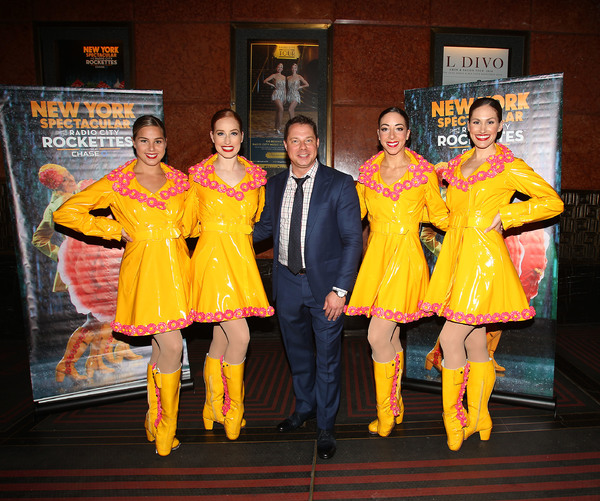 John Foxx & The Rockettes; Photo by: Kristina Bumphrey/StarPix