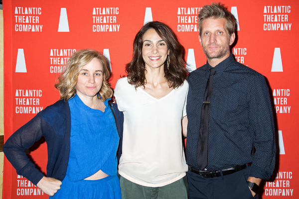 Annie Parisse, Paul Sparks, and guest