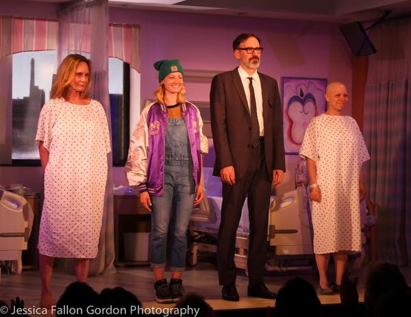 Lisa Emery, Beth Behrs, Erik Lochtefeld and Jacqueline Sydney Photo