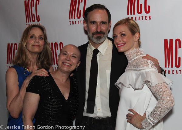 Lisa Emery, Jacqueline Sydney, Erik Lochtefeld and Beth Behrs