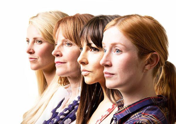 Carley Stenson, Carolyn Backhouse, Roxanne Pallett, Elly Condron