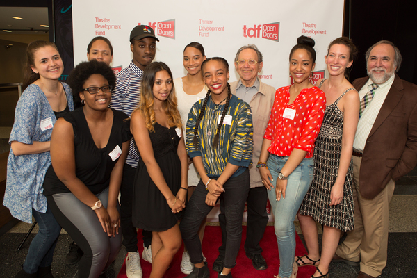 ALAN EISENBERG & Repertory High School Students