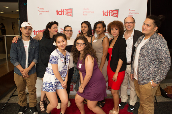 JAMES LAPINE, High School of Leadership and Public Service Students