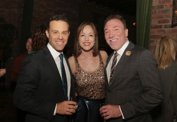 Red Bull Board Member and Actor Matthew Rauch, Paige Davis and her husband Patrick Page