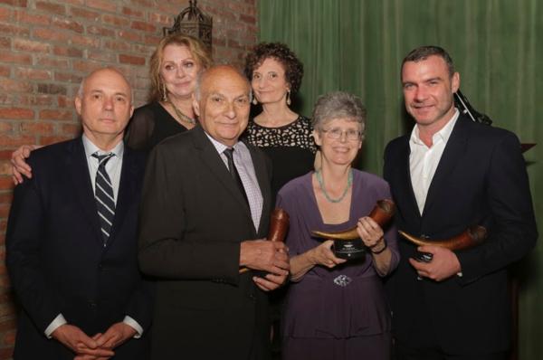 top row Elizabeth Ashley, Virginia Louloudes lower row: Gregory Mosher, Michael Kahn, Photo