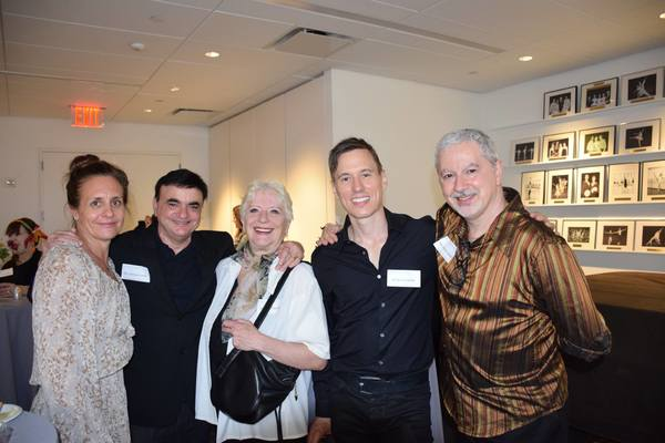 Photo Flash: The School Of American Ballet Hosts Alumni Cocktail Reception at Lincoln Center