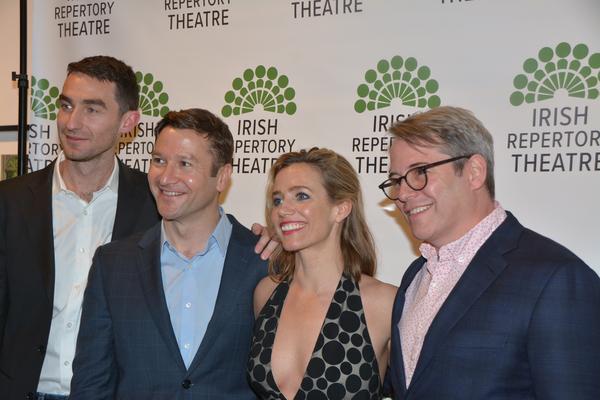 James Russell, Billy Carter, Lisa Dwan and Matthew Broderick