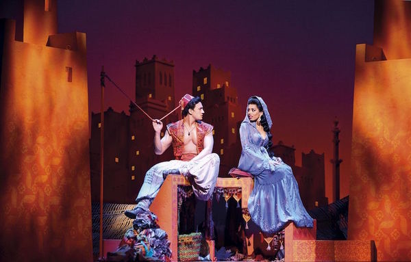 Photo Flash: First Look at West End Production of ALADDIN