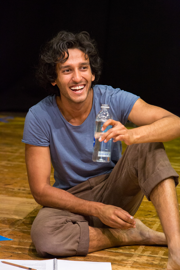 Photo Flash: In Rehearsal for Trevor Nunn's A MIDSUMMER NIGHT'S DREAM at New Wolsey Theatre