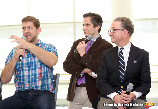 Daniel C. Levine, Seth Rudetsky and William Ivey Long
