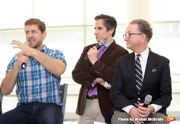 Daniel C. Levine, Seth Rudetsky and William Ivey Long