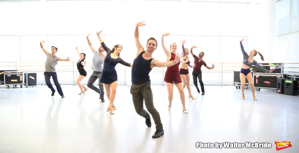 Exclusive Photo Coverage: In the Studio with Princess Cruises' BORN TO DANCE